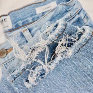 Frame Le Original Denim Ripped Distressed Jeans 25